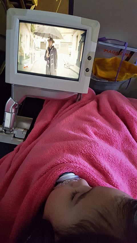 Avion avec Bébé en voyage Maman Dream