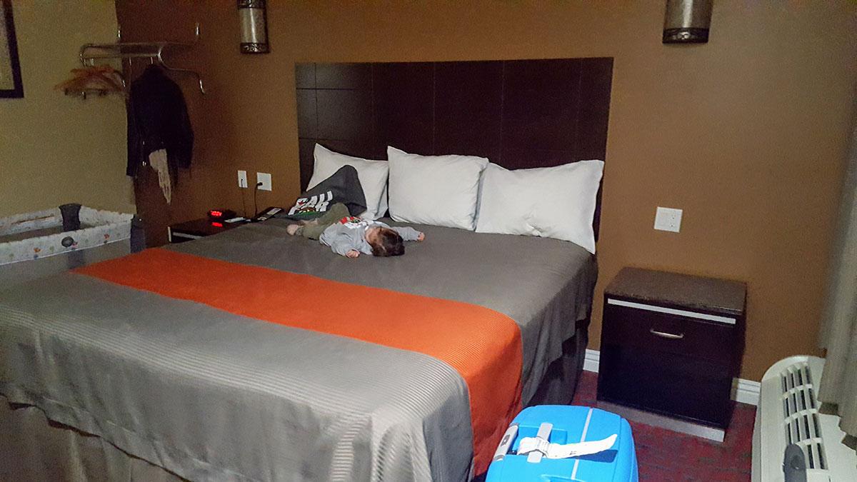 Hôtel voyage avec bébé Maman Dream