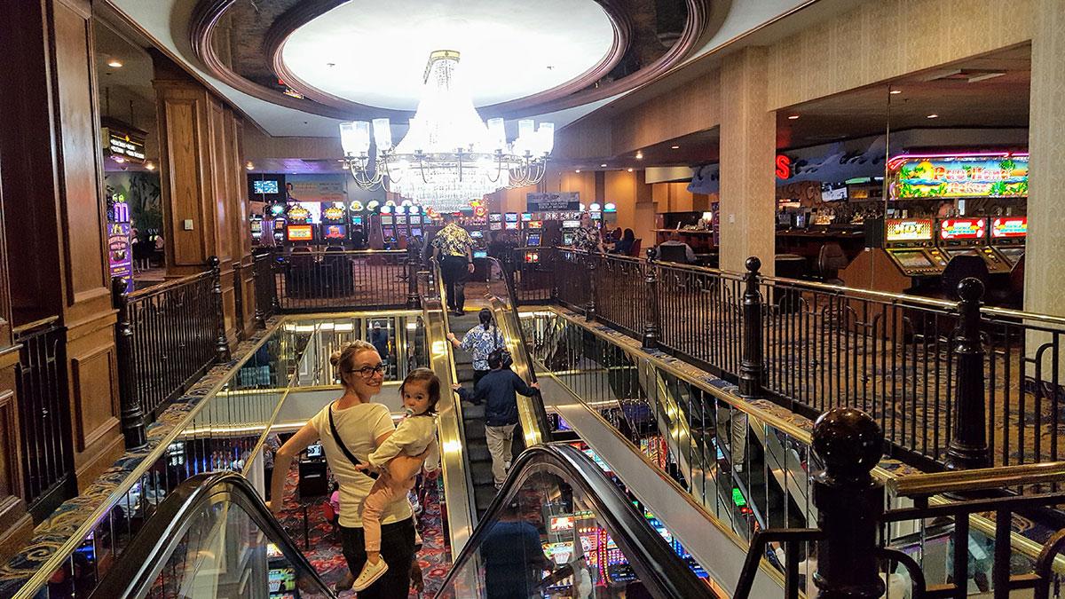 Casinos voyage Nevada road trip Maman Dream