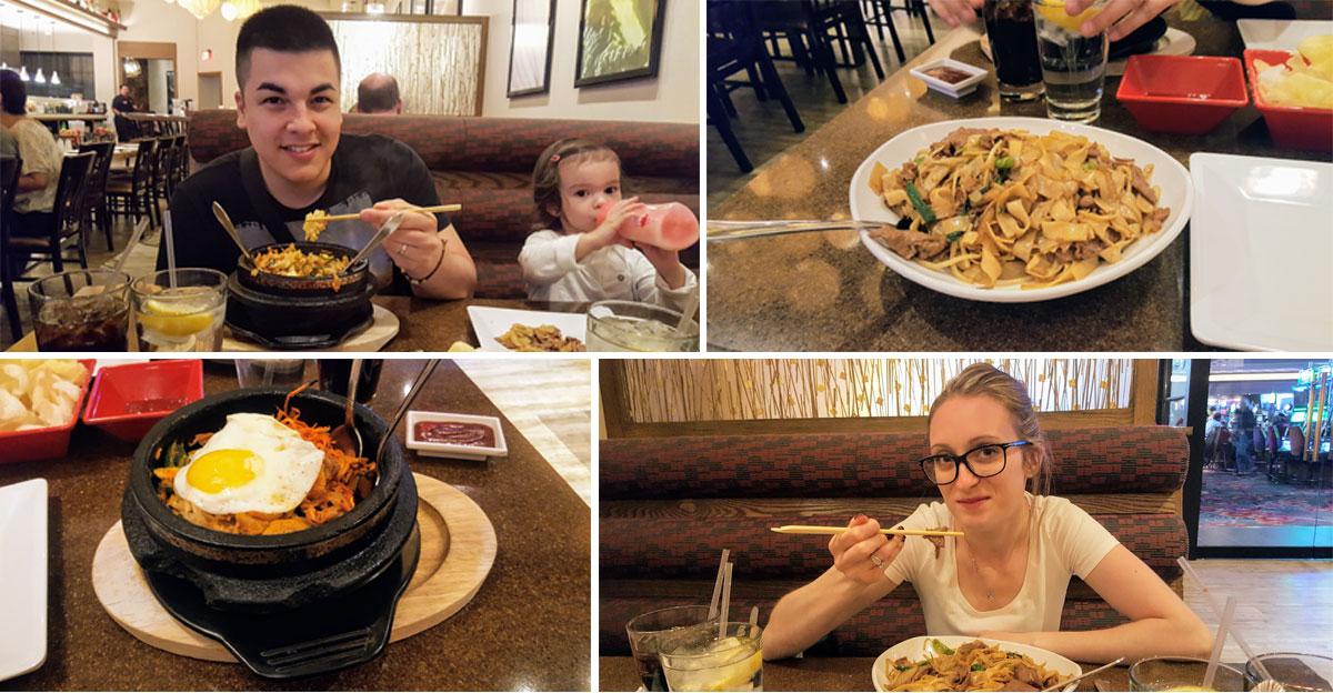Restaurant au Casino de Vegas Maman Dream